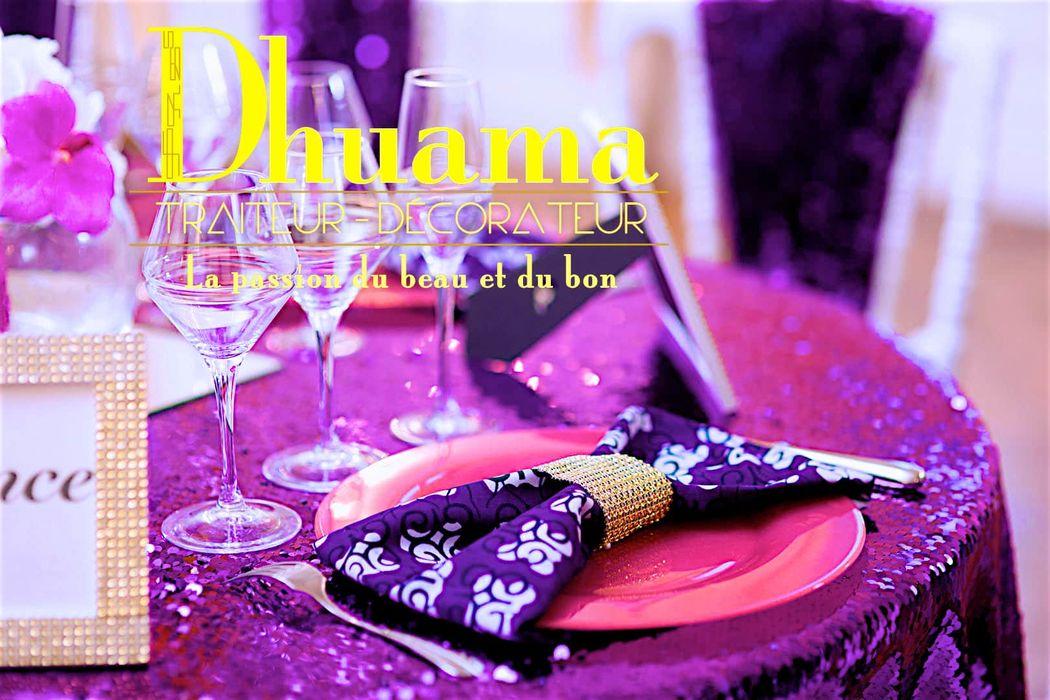 Décoration mariage en pagne: Dhuama traiteur africain