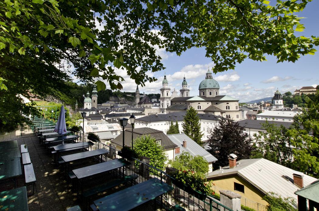 einzigartiger Blick über die Altstadt von Salzburg