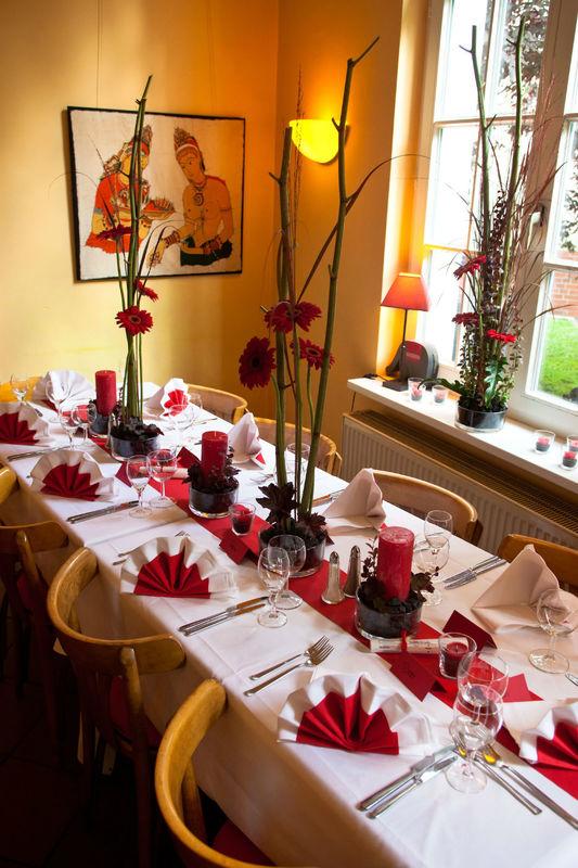 Beispiel: Florale Raumdekoration, Foto: Blumen Loos.