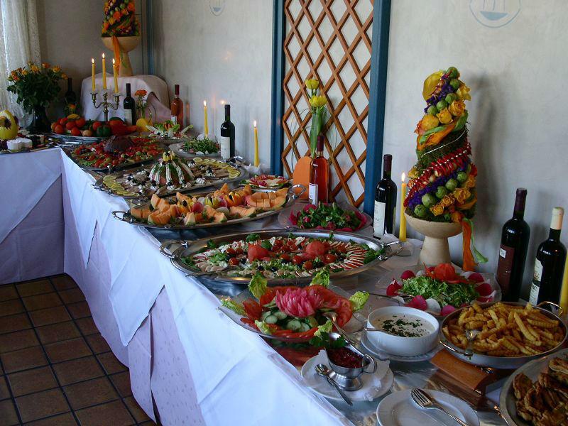 Beispiel: Büffet, Foto: Restaurant Prinzenquelle.