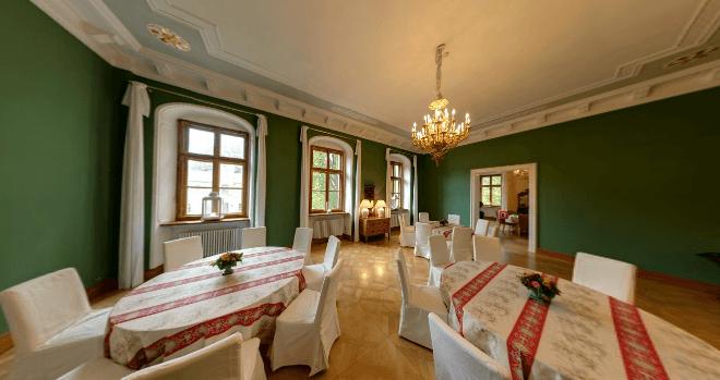 Beispiel: Schinkelsaal, Foto: Schloss Proschwitz.