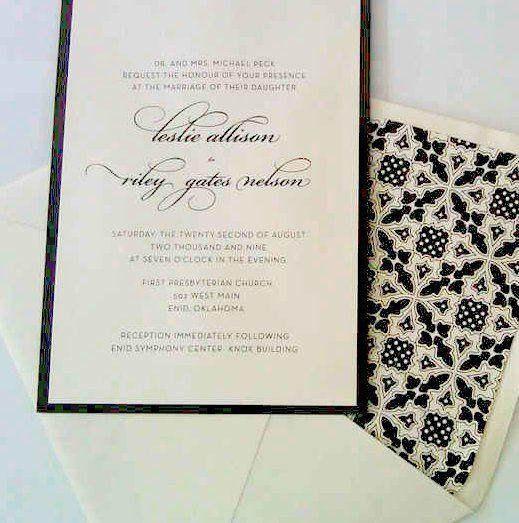 Invitaciones de boda en DF por Casa de Letras
