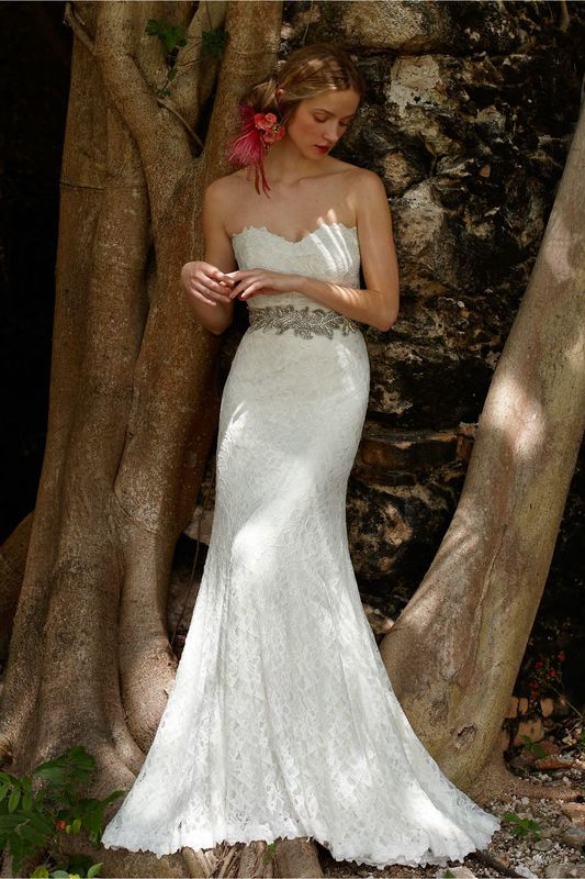 BHLDN Seraphina Платье премиум-качества от дизайнера Tadashi Shoji