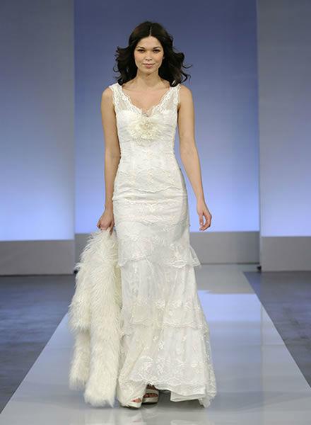 Beispiel: Elegante Mode für die Braut, Foto: Zoro Sposa.