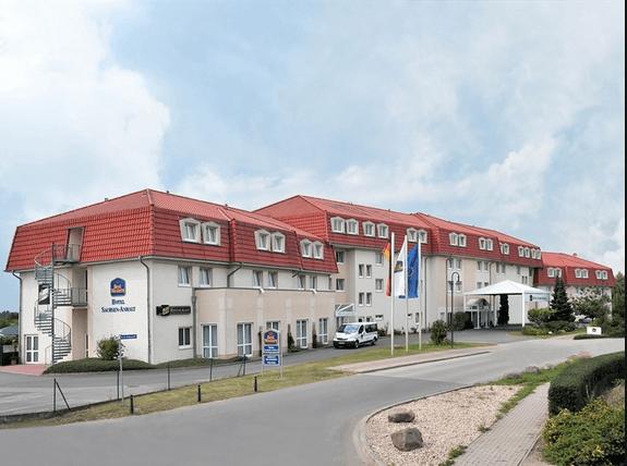Beispiel: Außenansicht, Foto: Best Western hotel Sachsen-Anhalt.