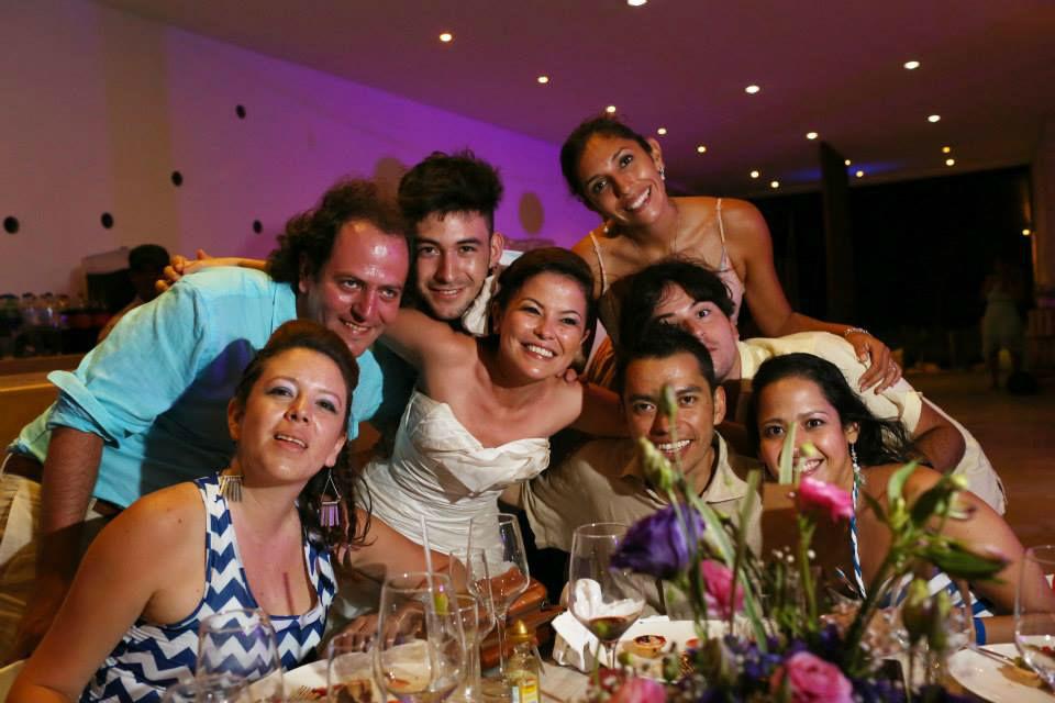 fotos con los invitados