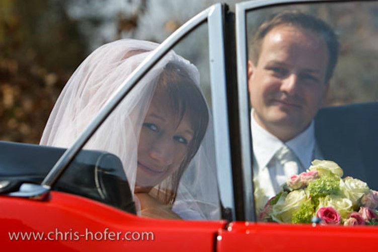 Beispiel: Professionelle Hochzeitsfotografie, Foto: Chris Hofer Fotografie.