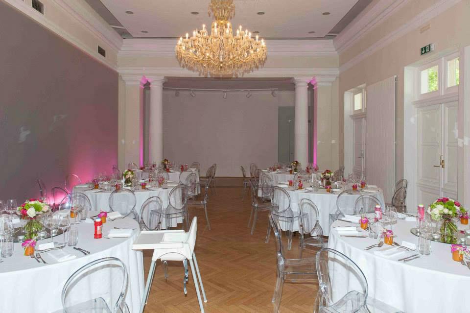 Beispiel: Festsaal, Foto: Kursalon Mödling.