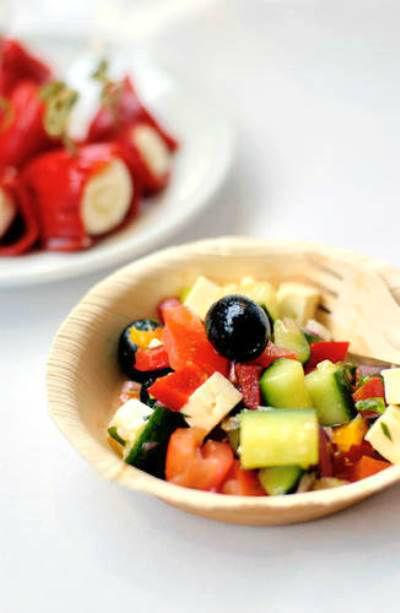 Beispiel: Frische Speisen, Foto: Best Catering.com.