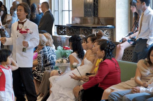 Beispiel: Hochzeit in New York, Foto: Heiraten in NY.