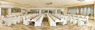 Beispiel: Hochzeitsbankett, Foto: Reschenhof.