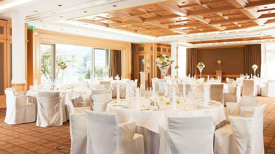 Beispiel: Traumhafte Hochzeitslocation, Foto: Althoff Seehotel Überfahrt.