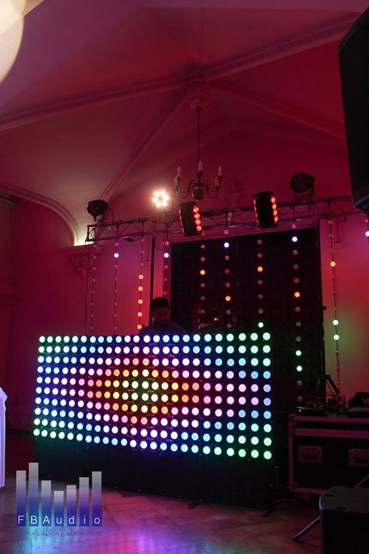 Guirnalda LED RGB - Panel LED DJ RGB. Productos exclusivos