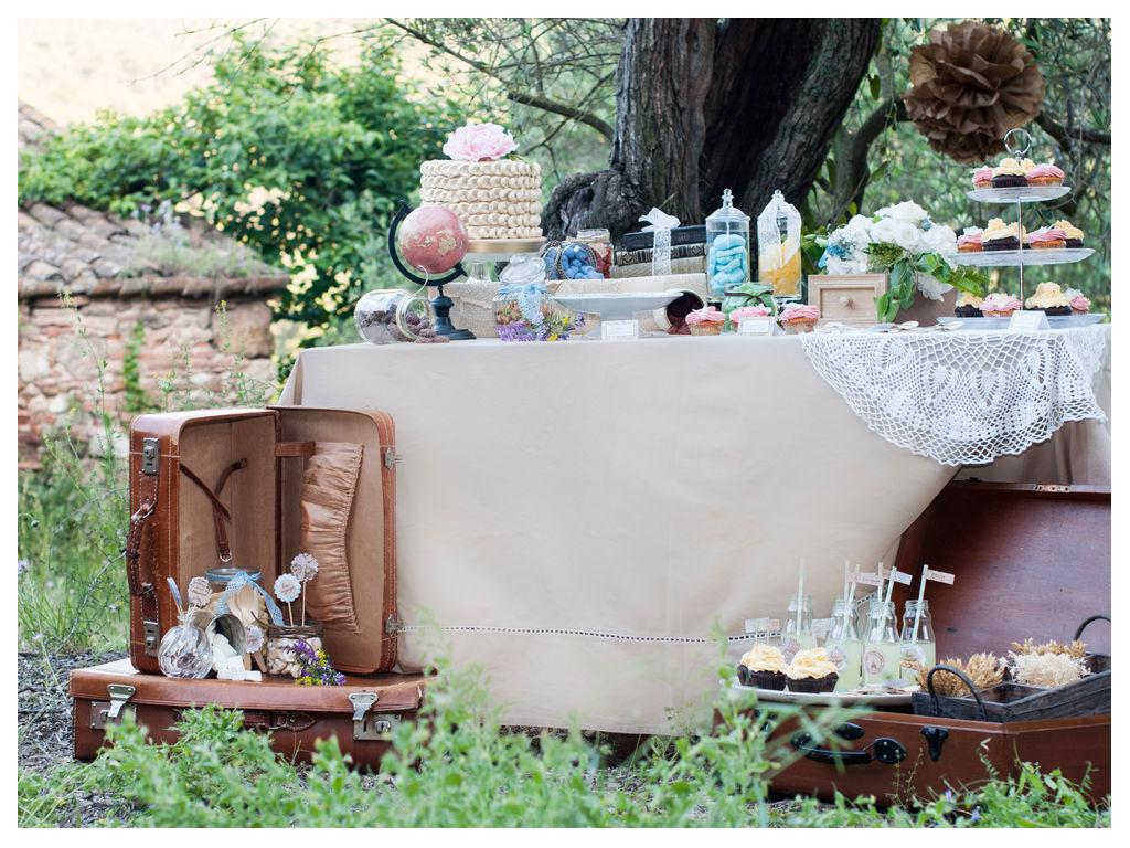 Mesa dulce TRAVEL VINTAGE. Mi especial colaboración para la editorial de Suitis Magazine. Foto: Joanna Noguera.