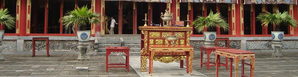 Beispiel: Vietnamesischer Tempel, Foto: Ao Dai Travel.