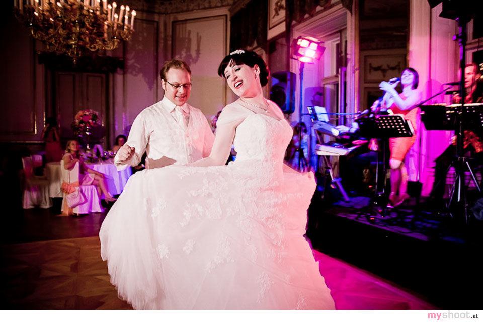 Schloss Schönburg in Wien. Hochzeitsfotograf: Steven Lin - www.myshoot.at