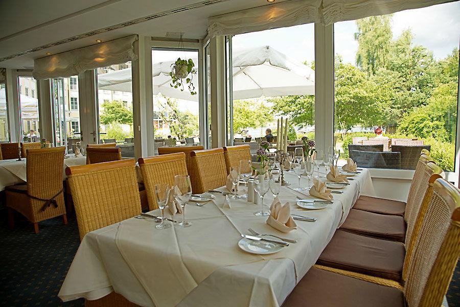 Beispiel: Restaurant, Foto: Seehotel Zeuthen.