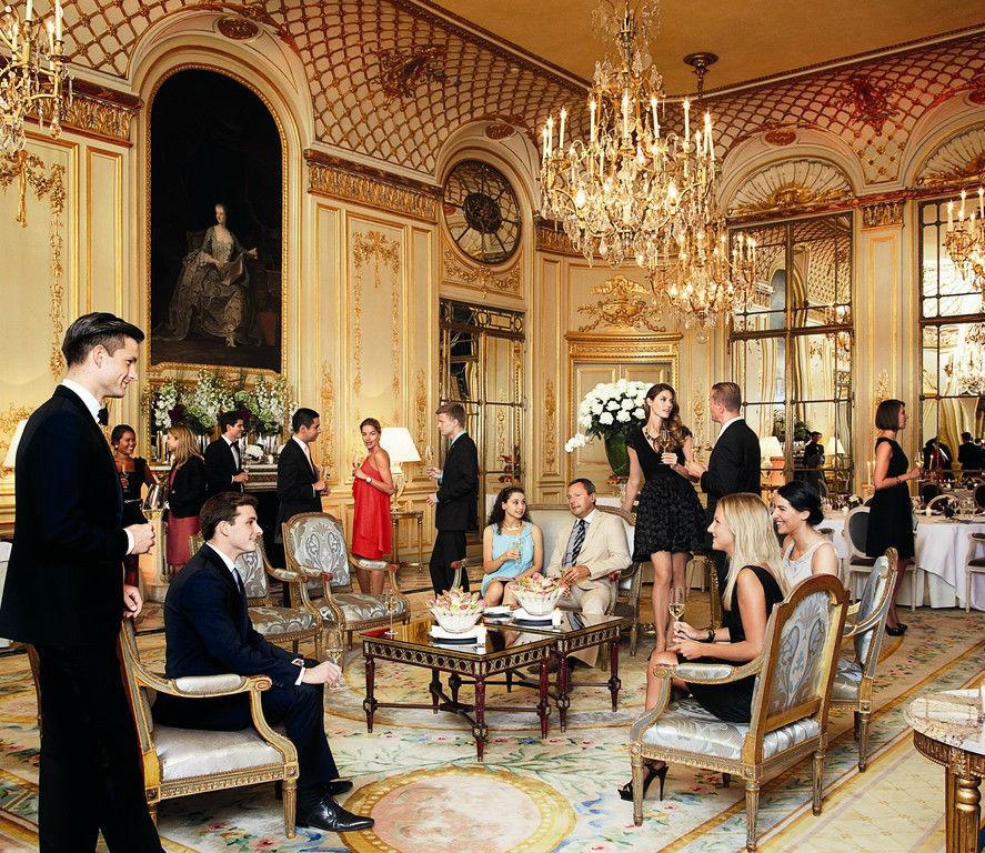 Le Salon Pompadour, Le Meurice