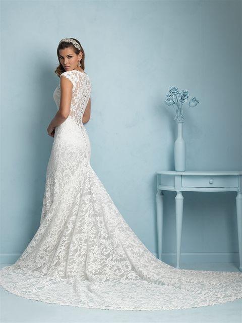 Marca: Allure Bridals. Modelo: 9206 - espalda.