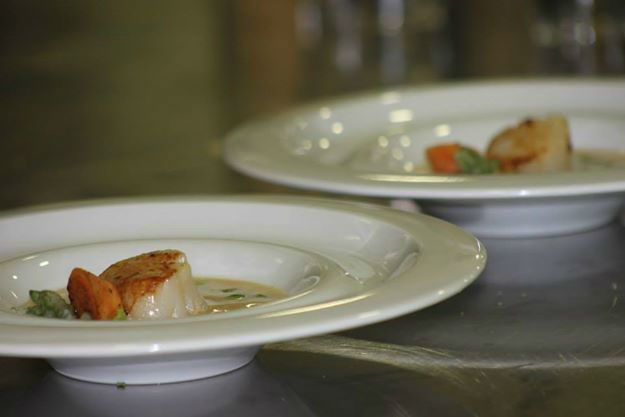 Beispiel: Exklusives Dinner, Foto: Bären Sigriswil.