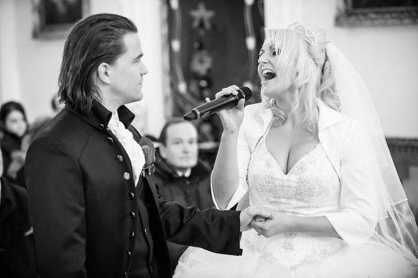 Beispiel: Hochzeitsband, Foto: Sunny Hills.