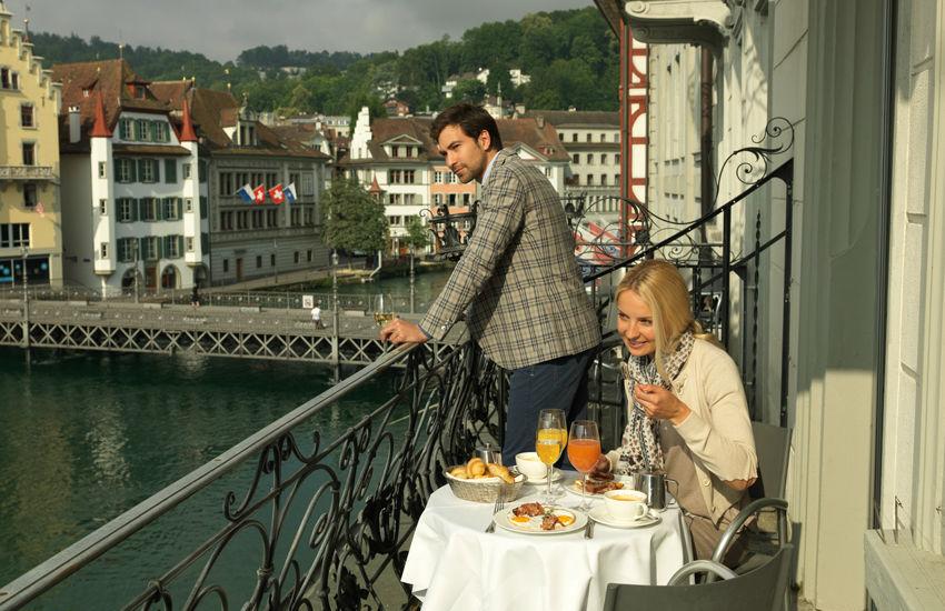 Beispiel: Balkon, Foto: Hotel des Balances.