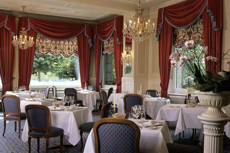 Beispiel: Restaurant, Hotel Eden au Lac.