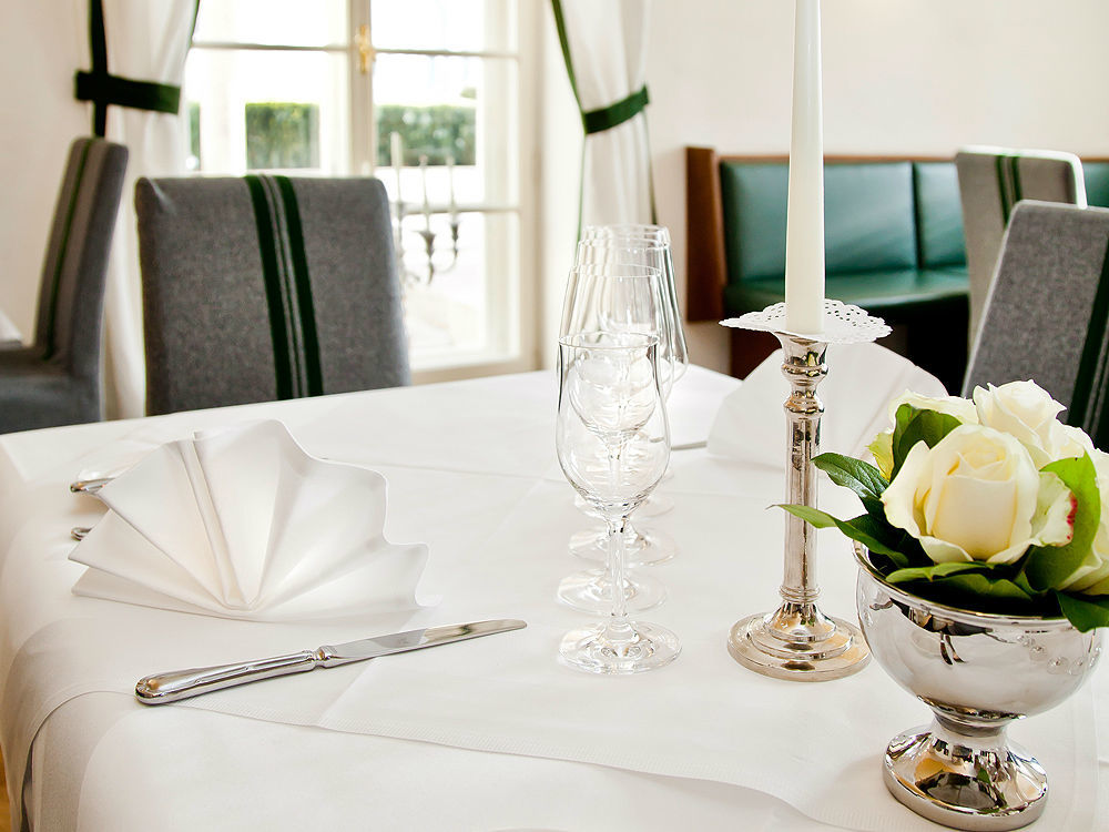 Beispiel: Tischdekoration, Foto: Gwandhaus.