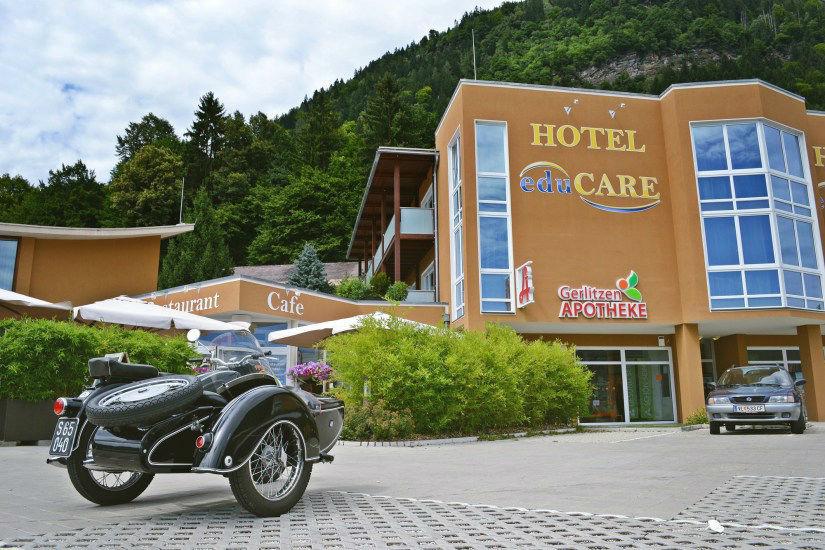 Beispiel: Außenansicht, Foto: Hotel eduCare.