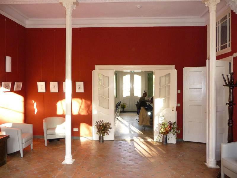 Beispiel: Blick in den Gartensaal, Foto: Schloss Grube.