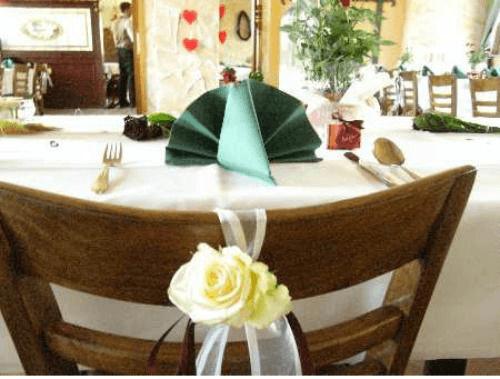 Beispiel: Bestuhlung, Foto: Mélange - Restaurant und Café.