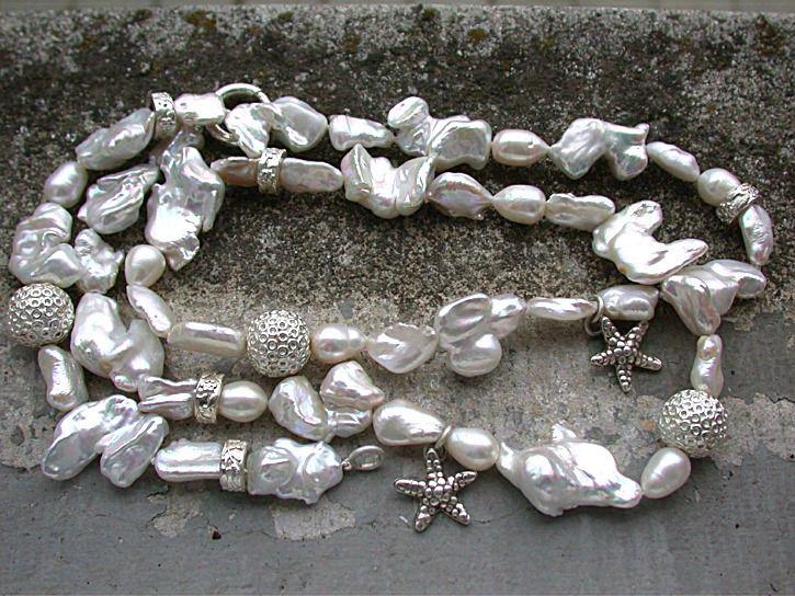 Beispiel: Halskette, Foto: Goldschmiede Vicina.