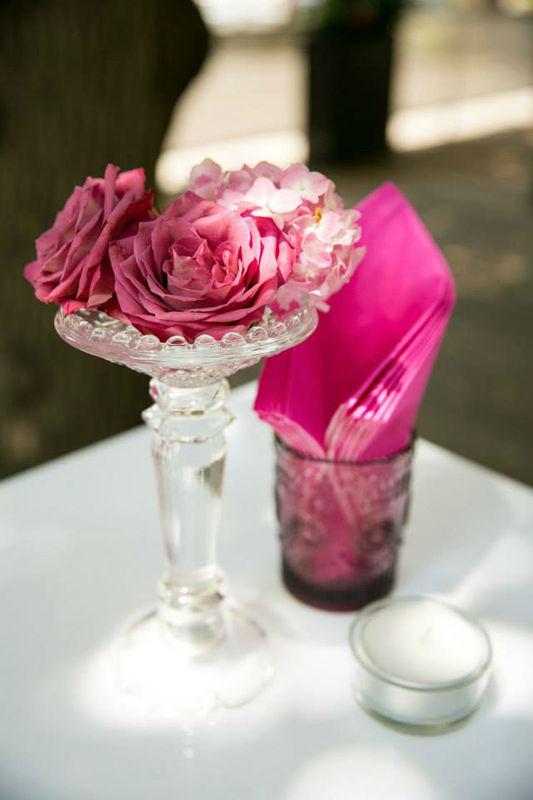 Beispiel: Hochzeitdekoration, Foto: Kursalon Mödling.