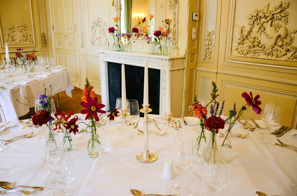 Beispiel: Tischdekoration, Foto: Blumenbar.