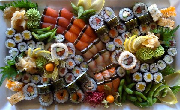 Beispiel: Sushi für Ihre Hochzeit, Foto: Güterhof.