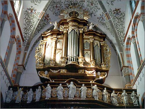 Beispiel: Orgel, Foto: Abtei Brauweiler.