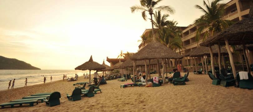 Playa Mazatlán Beach Hotel en Mazatlán, Sinaloa.