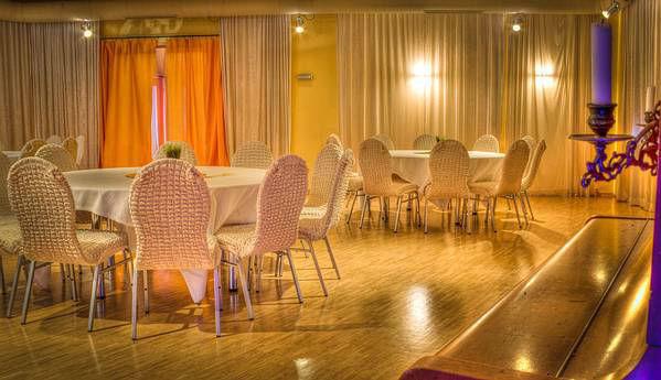 Beispiel: Festsaal, Foto: Mietwirtschaft Zur Eule.