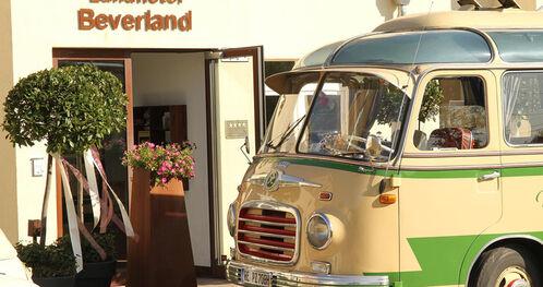Beispiel: Eingang, Foto: Landhotel Beverland.