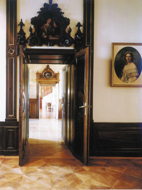 Beispiel: Herrschaftliches Ambiente, Foto: Schloss Wolfsberg.