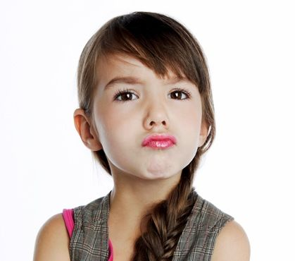 Beispiel: Kindermake-up, Foto: Kat make-up.