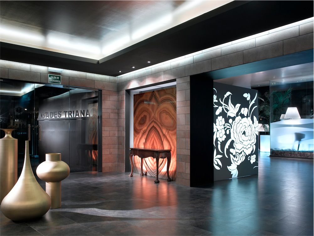 Interior restaurante Abades Triana