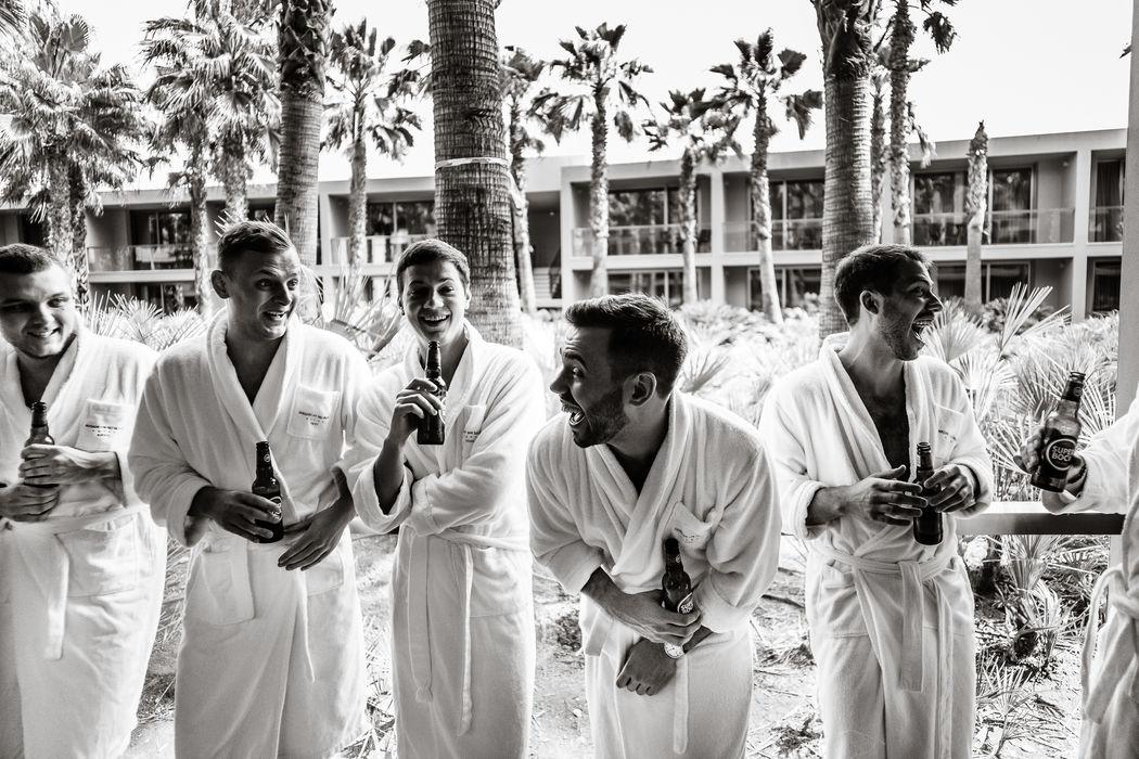 Свадьба в Португалии от Dream Weddings Europe - утро жениха