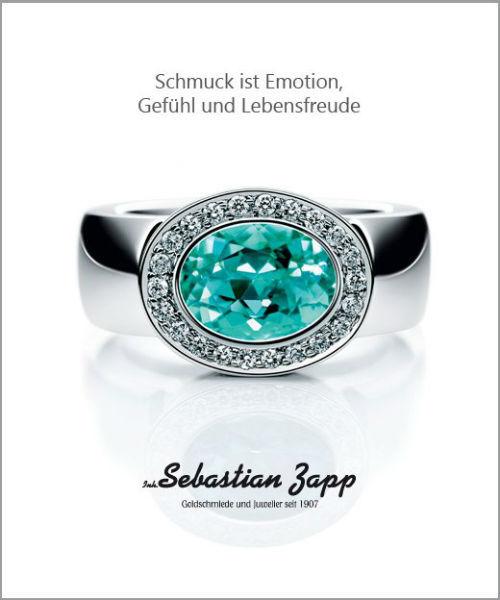 Beispiel: Schmuck, Foto: Juwelier Zapp.