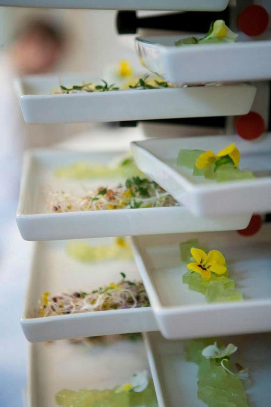 Beispiel: Einzigartige Genüsse, Foto: Tip Top Table Catering.