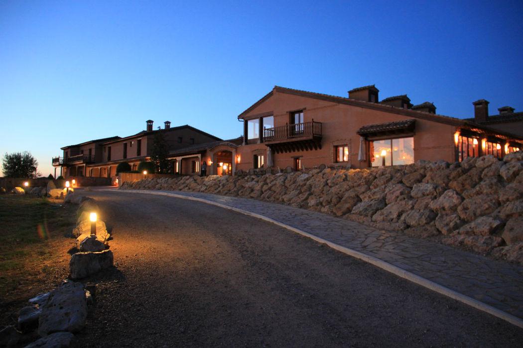 Entrada Hotel Noche