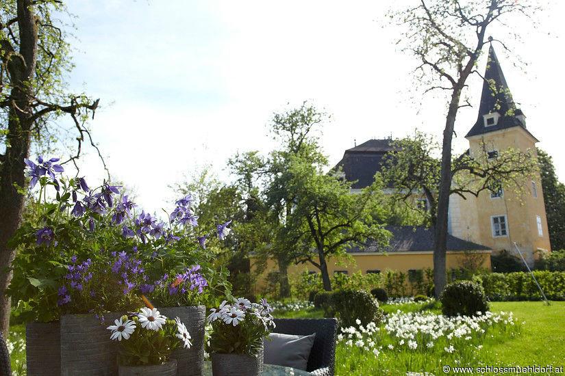 Beispiel: Außenansicht, Foto: Schloss Mühldorf.