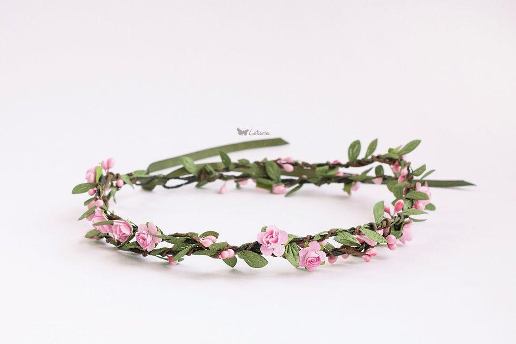 Workshop Leteria Нежный цветочный веночек