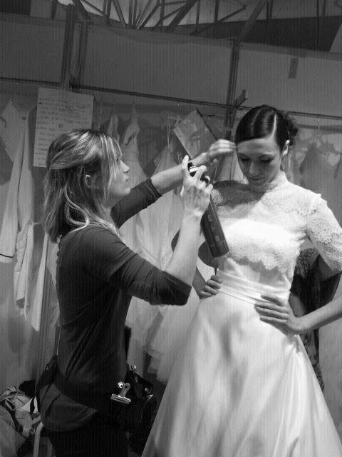 Backstage Bridal Week Barcelona
