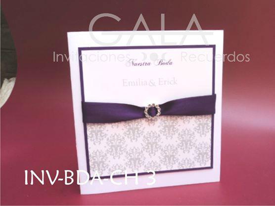 Gala, Invitaciones y Recuerdos